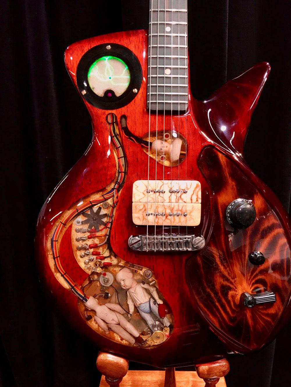 Spalt's Frankenstein Music Machine, a genuine show-stopper.