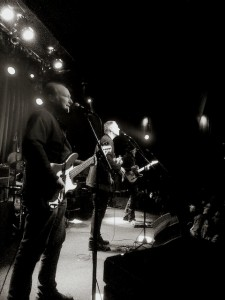 Of course this picture of Television sucks—I took it! L-R: Fred Smith, Billy Ficca, Tom Verlaine, Jimmy Rip.