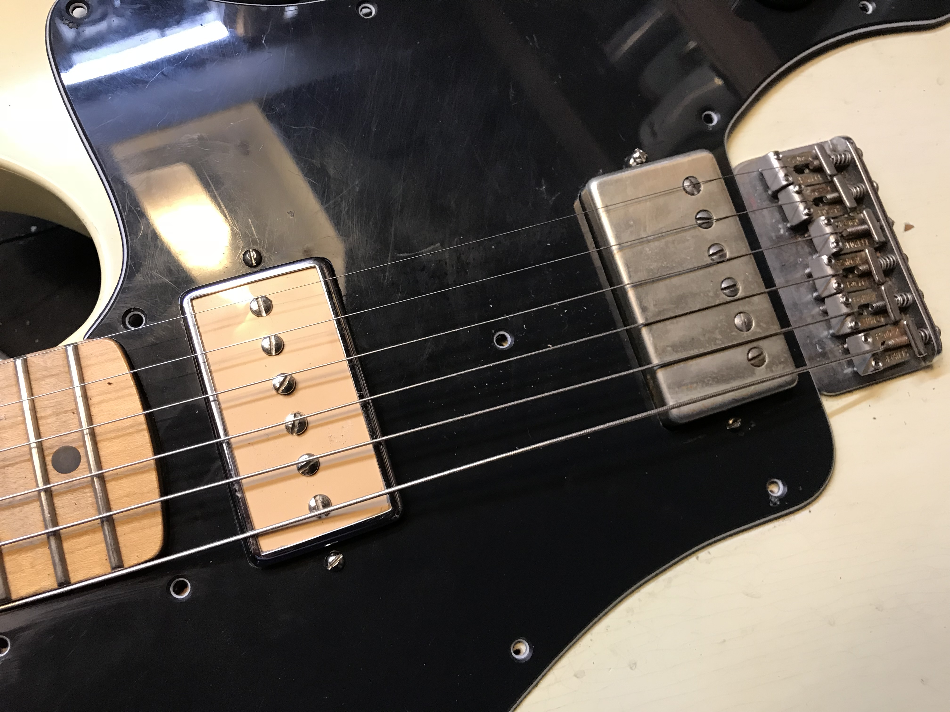 carvin humbucker guitar wiring diagram telecaster deluxe variations six pickups and some weird wiring  telecaster deluxe variations six