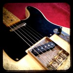 Much like an iPhone photo app makes this new Squier Tele look old, Duncan's Vintage Broadcaster set makes it SOUND old.