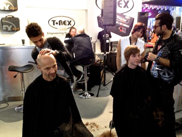T-Rex Haircuts
