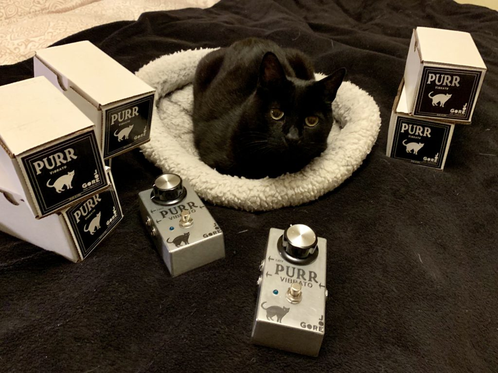it's too early to say whether guitarist will dig the purr pedal  but at  least someone i know is excited about the new release!