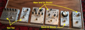 Pedals In Stock