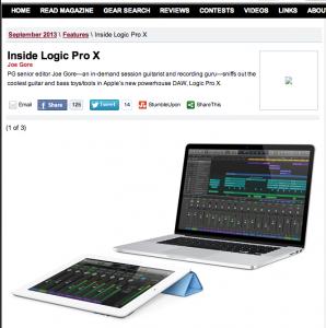 Inside Logic Pro X