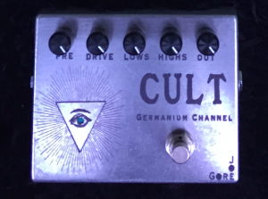 Also coming soon, Cult's big  brother, the Cult Germanium channel, adds additional tone-shaping controls plus an active EQ section.